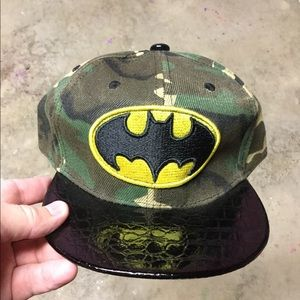 NEW Kids Batman SnapBack Hat
